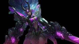 Mobile Legends Karina Transparent Doom Duelist By B La Ze