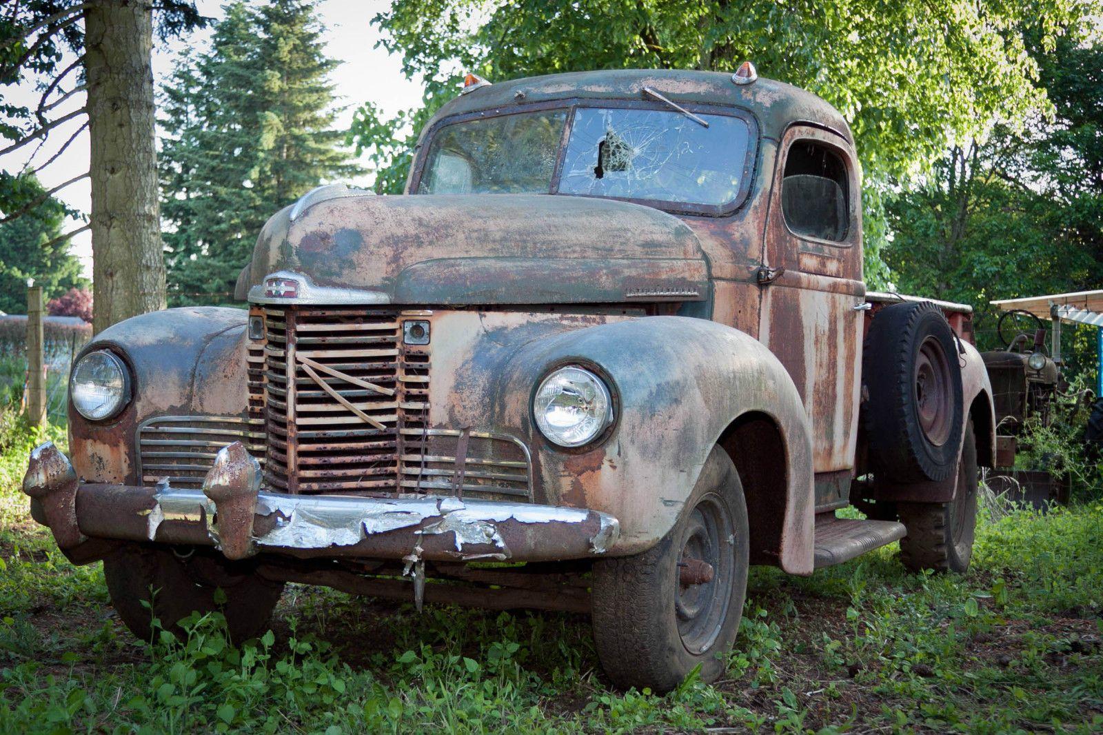 1949 International KB truck Rat Rod Hot Rod Restoration Project ...