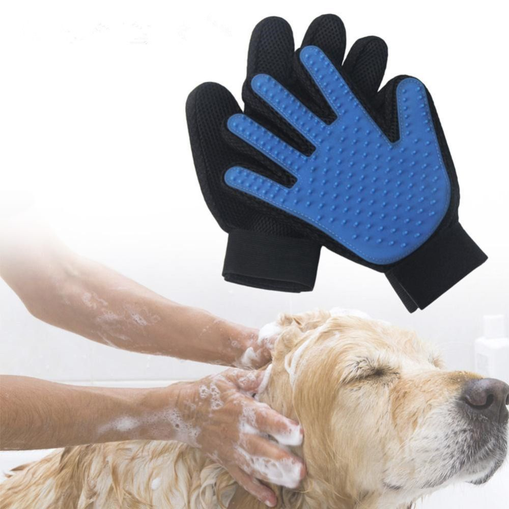 23 17cm pratical deshedding brush glove pet dog cat hair gentle rh pinterest com