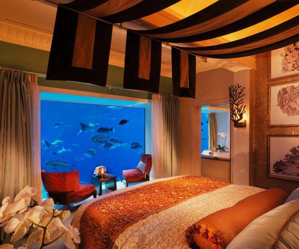 Atlantis The Palm underwater suite Dubai