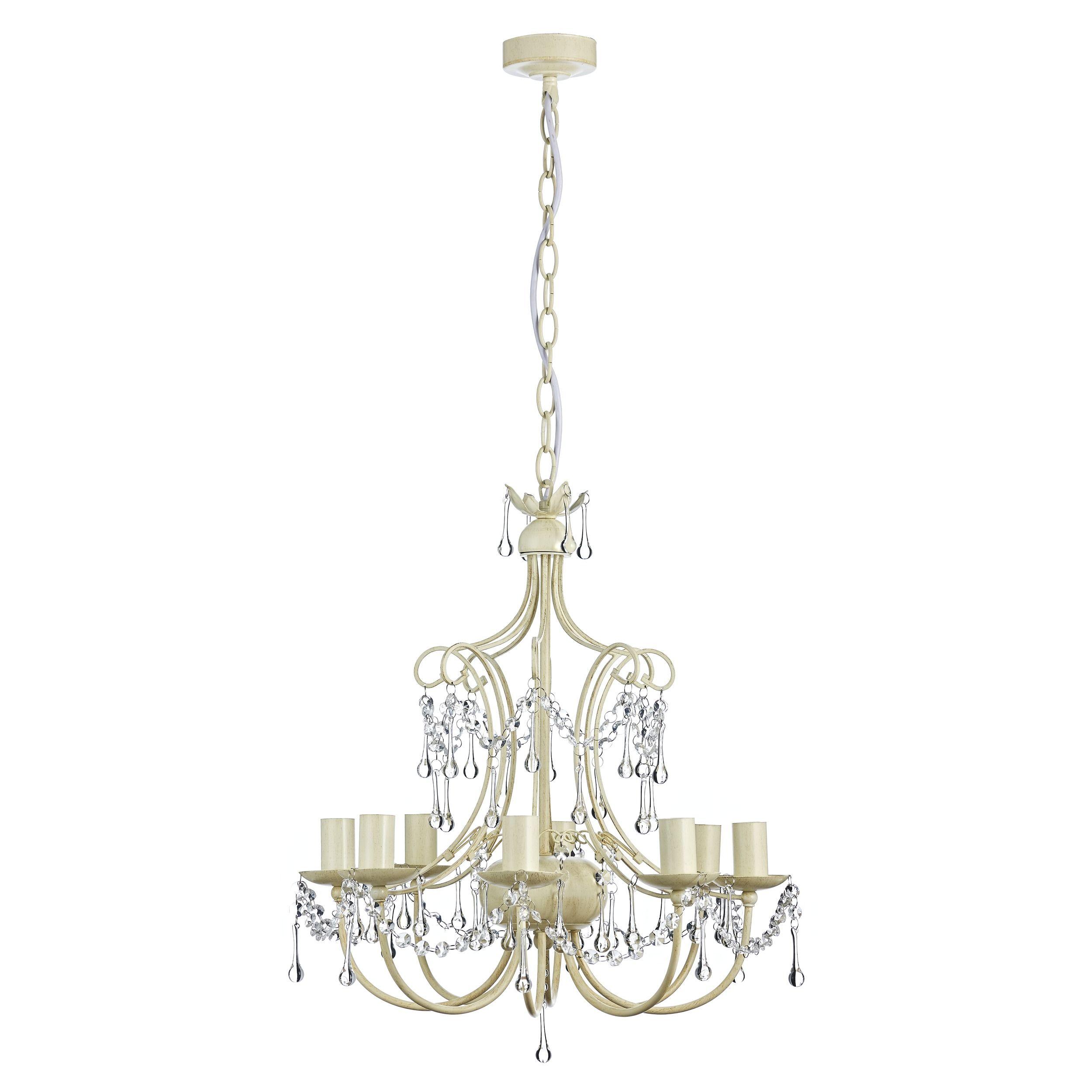 Chella Cream 5 Light Chandelier   5 light chandelier