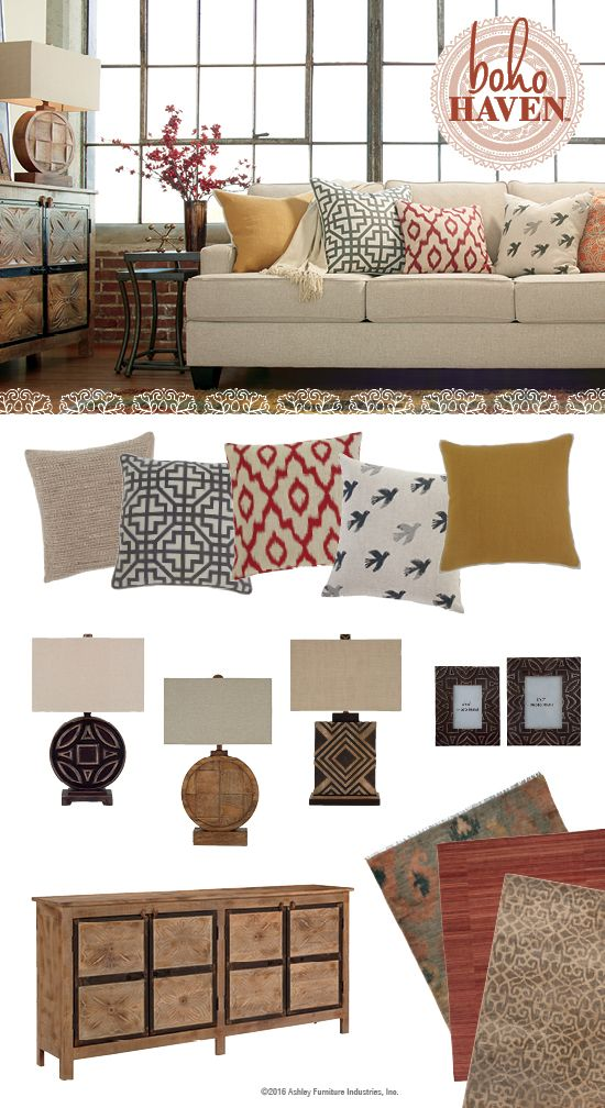 boho haven brielyn sofa boho inspired furniture and accessories rh pinterest com