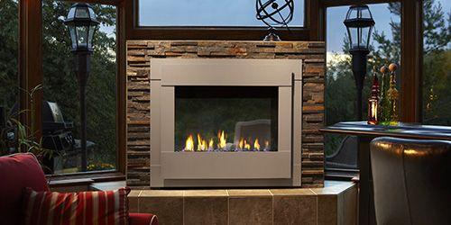 heat glo s twilight ii indoor outdoor fireplace which operates on rh pinterest com