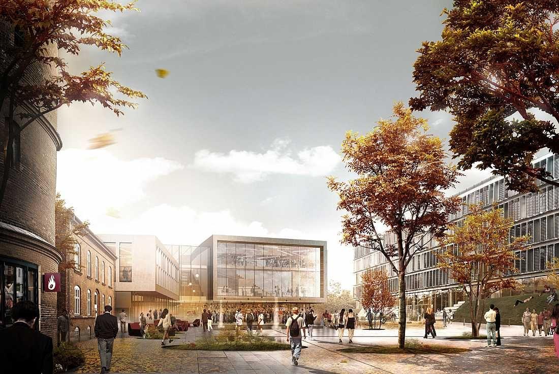 Wettbewerb Für Theatersanierung: Campus In Society. C.F. Møller. Photo: C.F. Møller