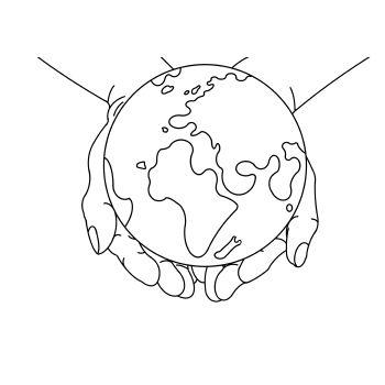 De Wereld In Zijn Hand Download De Kleurplaat Op Www Dichter Bij Nl