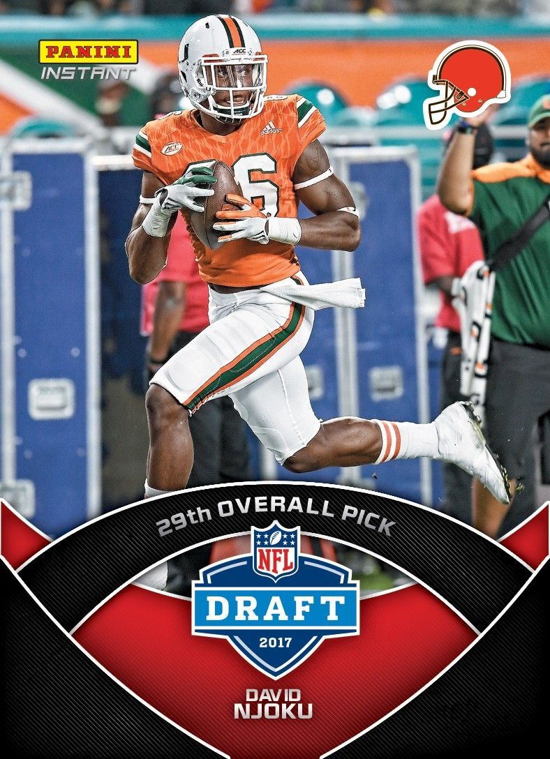 Kicking off with the Draft, 2017 Panini NFL Instant