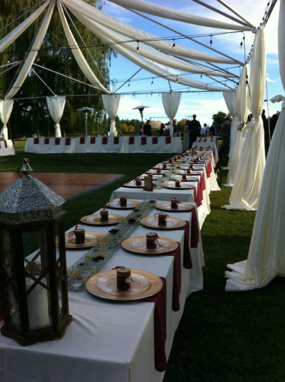 Wedding Table settings Wedding Table settings