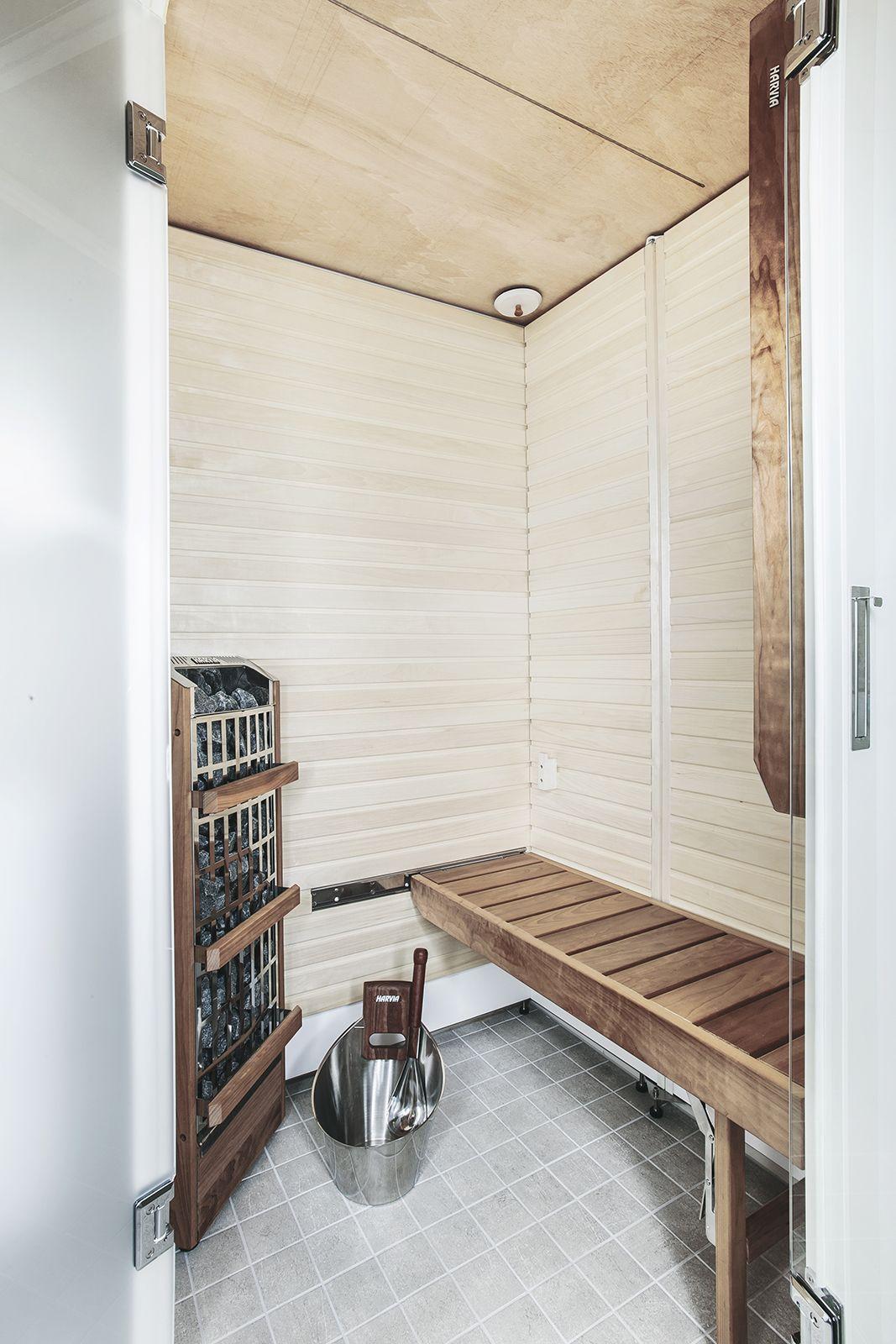 When Smart Fold Bathroom Sauna Is Folded, It Doesnu0027t Take Much Space From