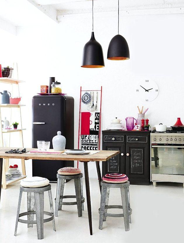 smeg fridge history a gypsy s life kitchen kitchen design rh pinterest com