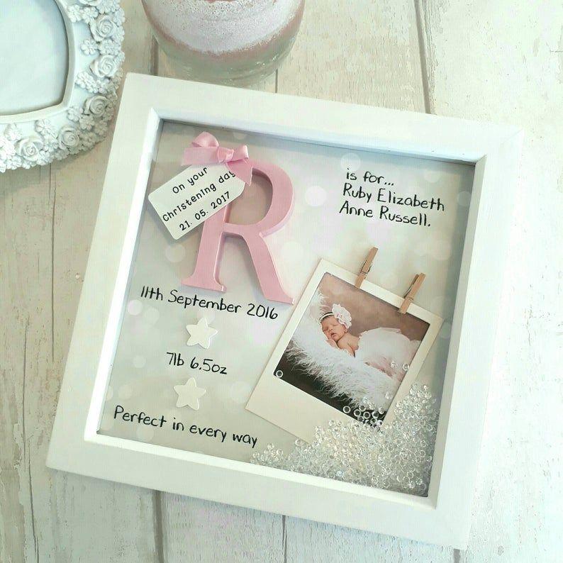 Home Furniture Diy Plaques Signs Personalised Newborn Boy Girl Photo Frame Baby Shower Keepsake Present Gift Bortexgroup Com