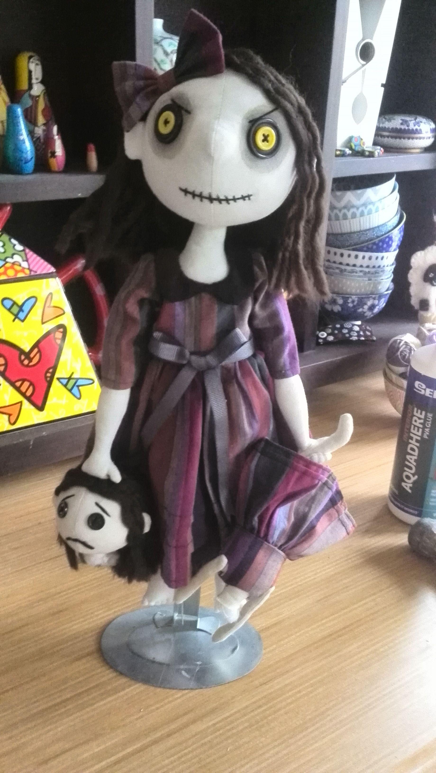 Evil doll anime evil art