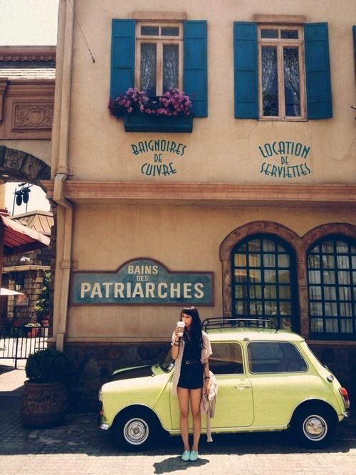 Two Beauties Caught In One Frame Mini Advertising Cars And