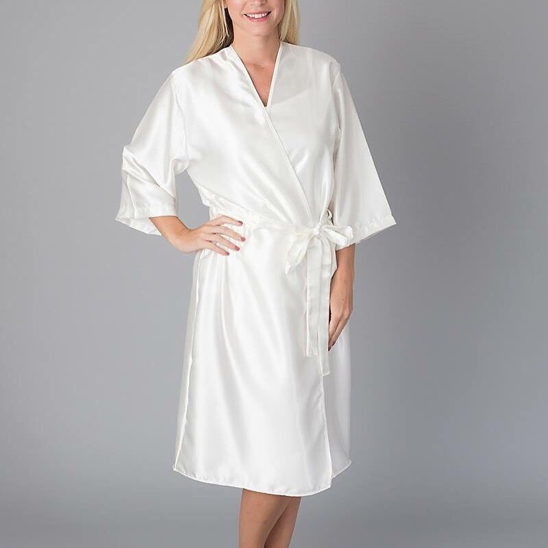 Personalised Bride Dressing Gown from www.pure-treats.com   Bride ...