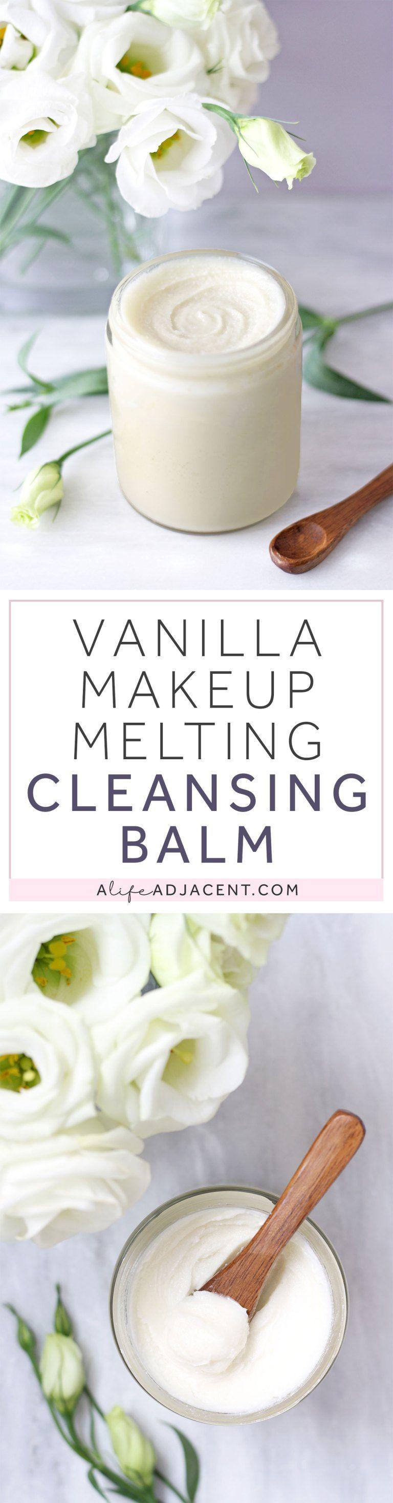 DIY Cleansing Balm to Melt Your Makeup Diy makeup