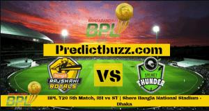 Rajshahi Royals Vs Sylhet Thunder 5th T20 Match Cricket Betting Tips Who Will Win Https Ift Tt 2rnrrj4 Who Will Win Predictions Cricket Match