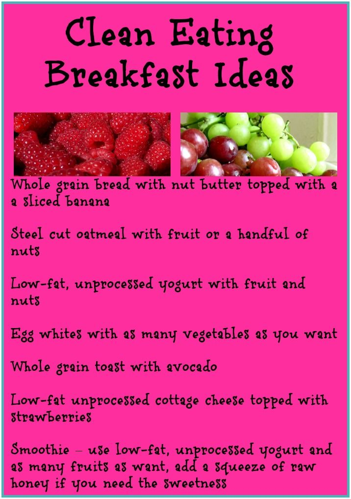 Start Your Day Off Right With These Clean Eating Breakfast Ideas