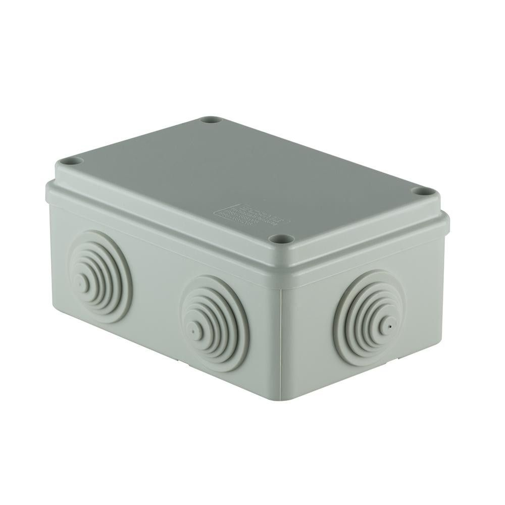SCAME surface junction box with cable sleeves 120x80x50