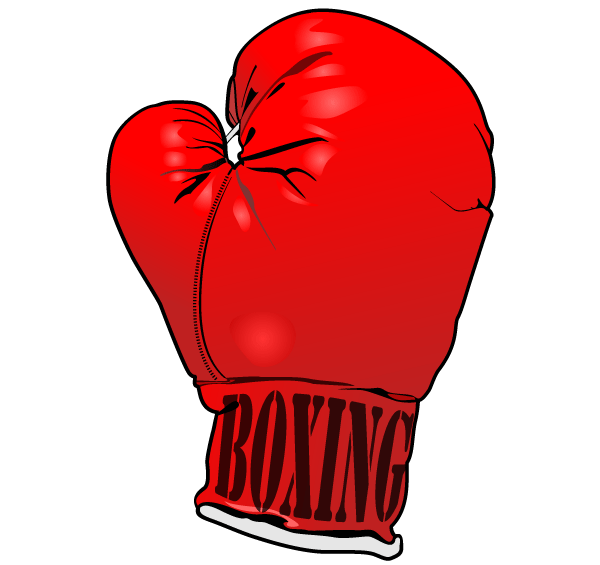 red boxing gloves vector image free vector images free gloves and box rh pinterest com