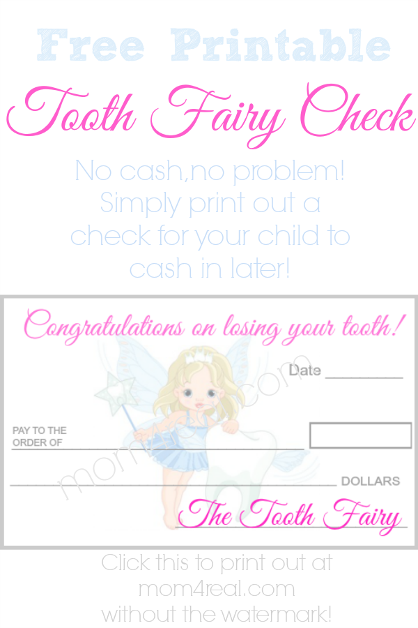 image relating to Tooth Fairy Printable identify Teeth Fairy Verify or Economical ~ Absolutely free Printable Wow! Terrific