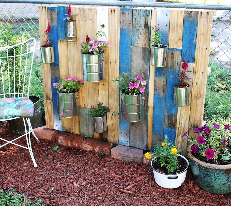 jardin vertical palets