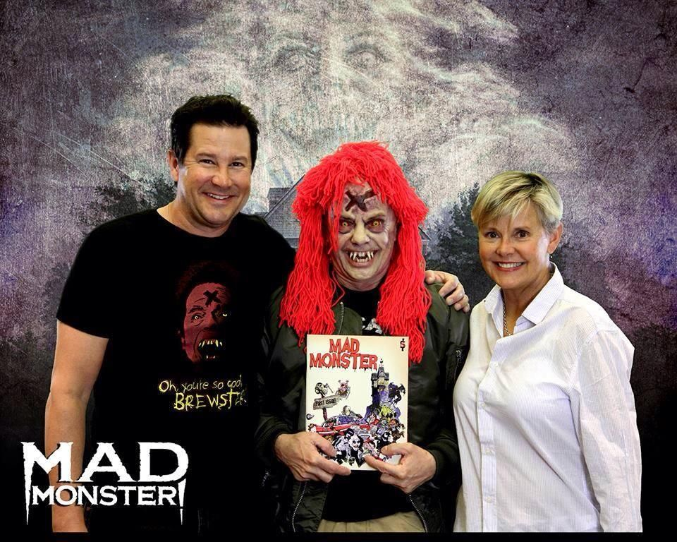 Amanda Bearse And William Ragsdale At An Event For Fright Night