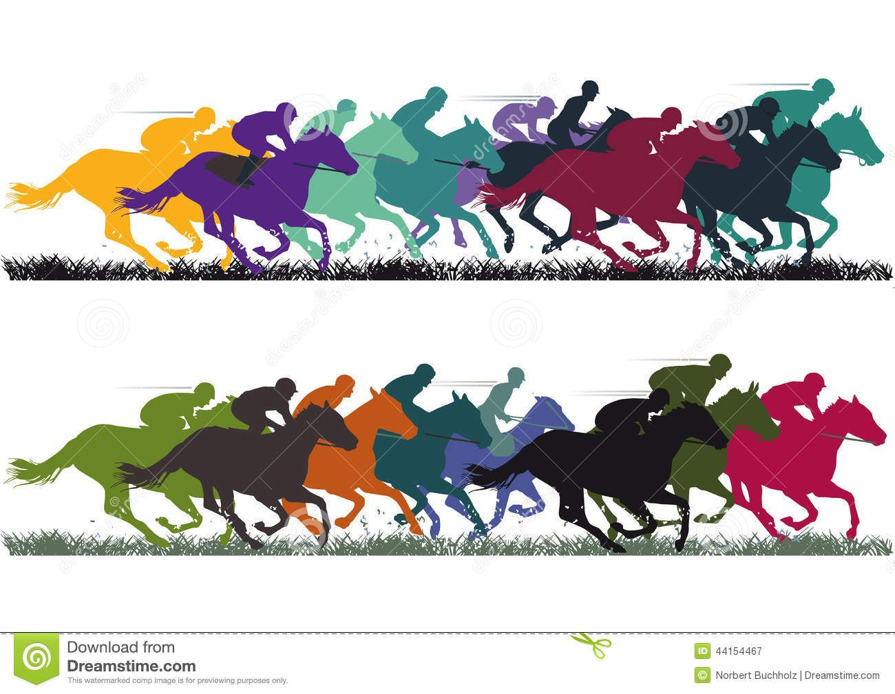 Free Clipart Horse Racing Clipartfest Free Clip Art Illustration Horses
