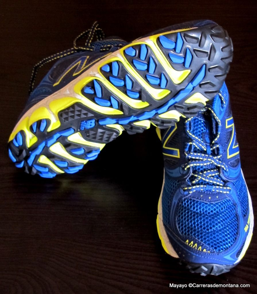 Zapatillas New Balance MT810 BR3 (290grDrop4): Voladoras