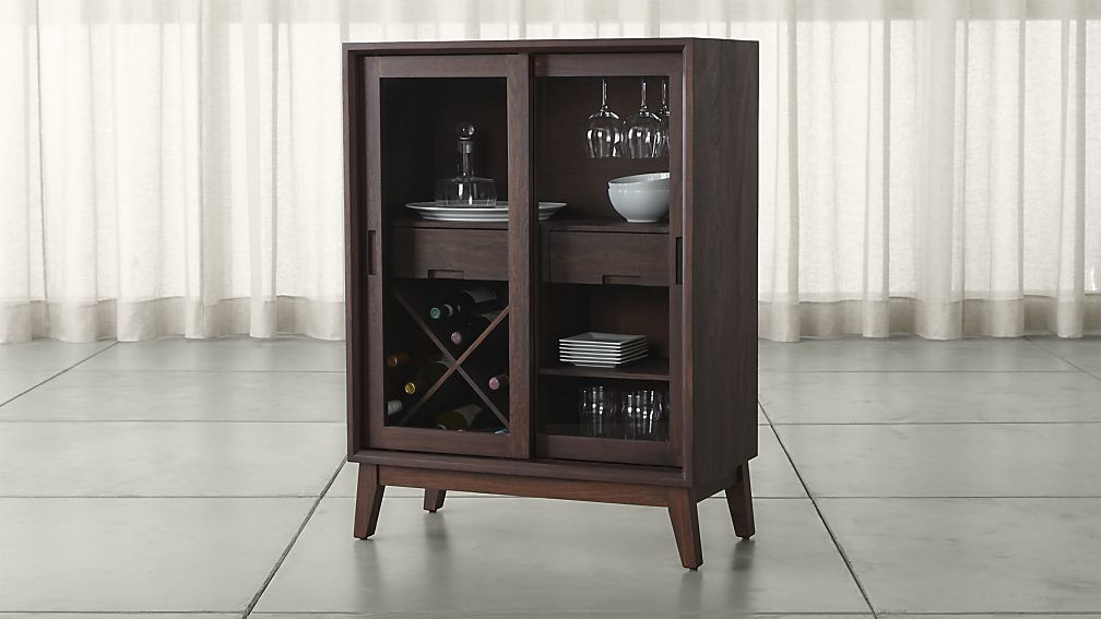 steppe bar cabinet crate and barrel pinterest crates barrels rh pinterest com