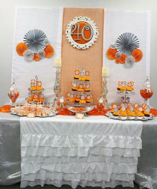 Fall Wedding Dessert Table: Fall/Autumn Birthday Party Ideas