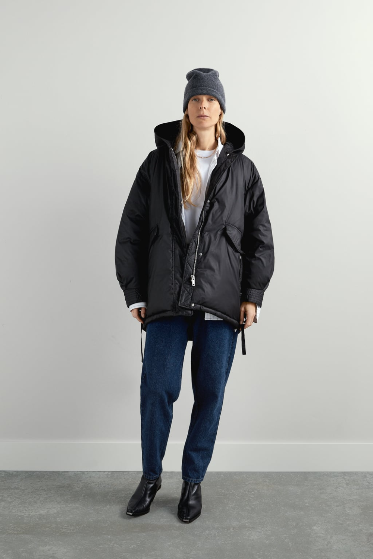Oversized Puffer Jacket View All Coats Woman Zara United States Oversized Puffer Jacket Jackets Puffer Jackets [ 1500 x 1000 Pixel ]