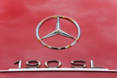 "Chromeography - ""Mercedes"" - photos of emblems, badges, logos on cars & other objects"