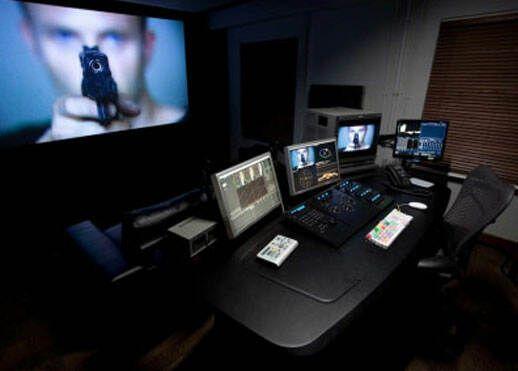 Another small DI room | Color grading | Recording studio ...