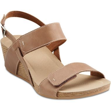 f53ffd7c028c6 Clarks® Alto Disco Slingback Wedge Sandals - jcpenney