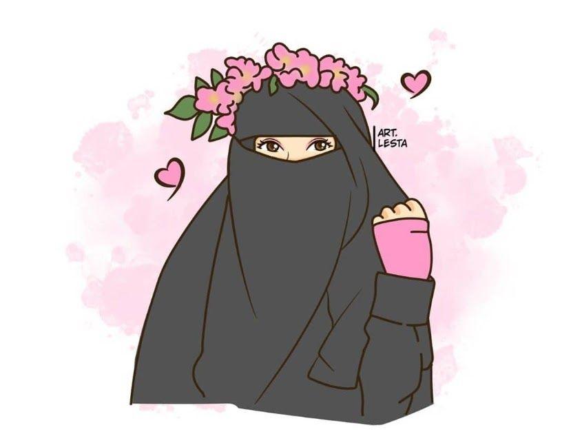 20 Gambar Kartun Persahabatan 2 Orang Perempuan 43 Gambar Kartun Muslimah Berhijab Lucu Dan Menggemaskan Download 40 Kata Mutiara Te Di 2020 Kartun Gambar Animasi