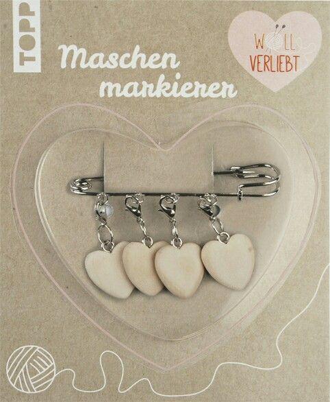 Wunderschöner Maschenmarkierer vom TOPP Verlag. Haben wollen! :)