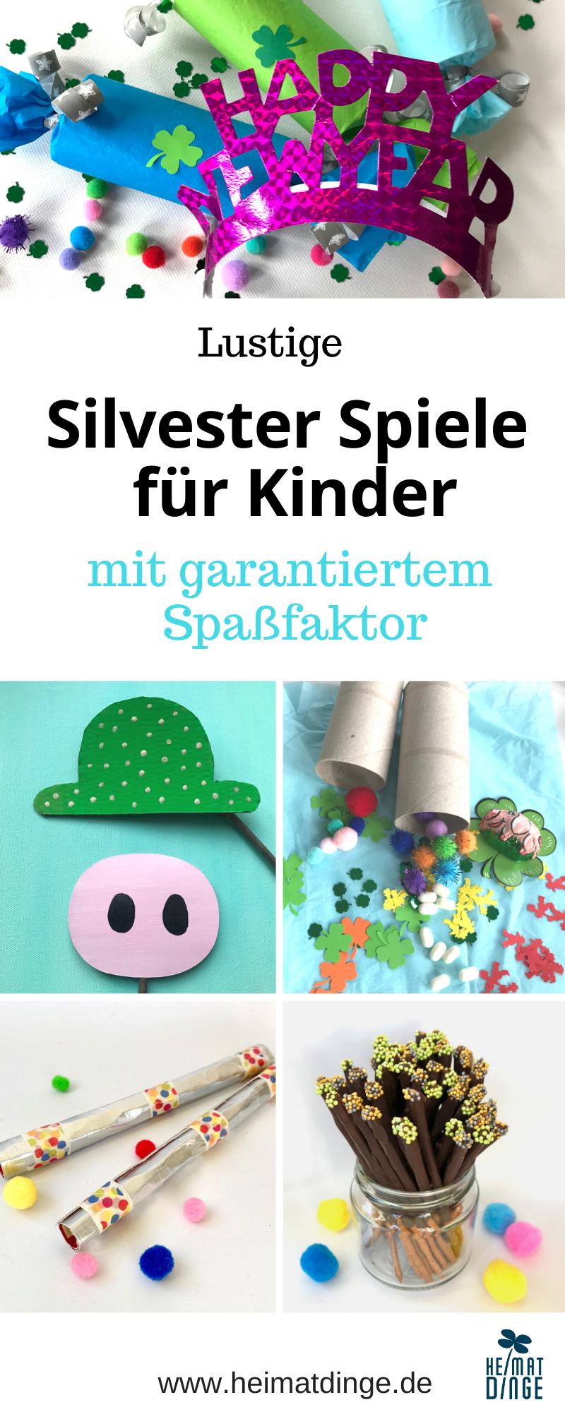 Silvester Spiele für Kinder mit garantiertem Spaßfaktor - #weihnachtendekorationkinder