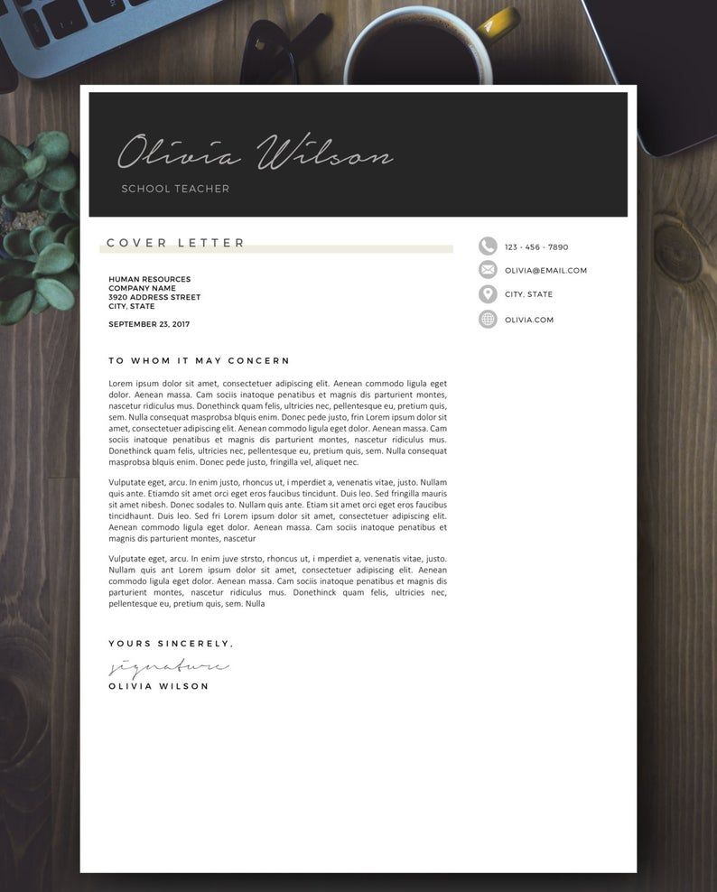 Pin on Resume & Cover Letter