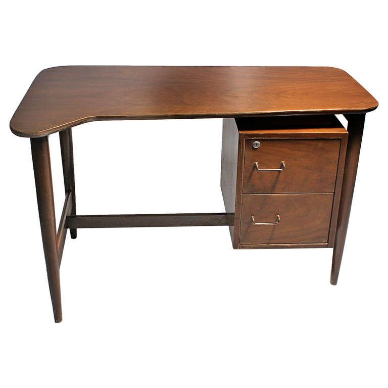 American Of Martinsville Organic Shaped Desk From A Unique Collection Of Antique And Modern Desks And Writing Tables At Http Www Furniture Desk Modern Desk