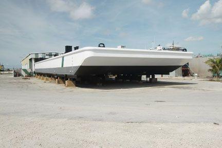 110' Steel Deck Barge for sale    Custom Steel Barge for Sale