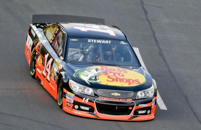 stewart drives his popular bass pro shops chevrolet at charlotte rh pinterest com