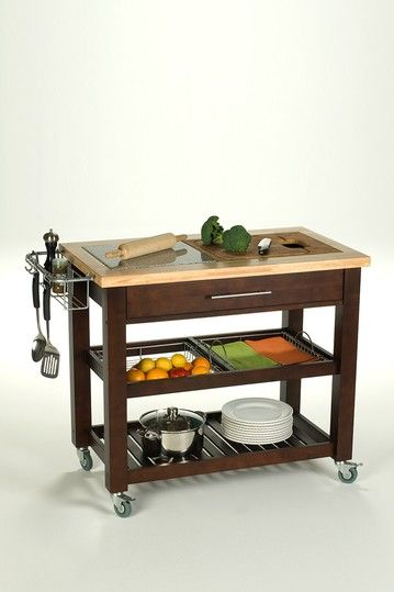 kitchen prep carts cutlery on hautelook house pinterest rh pinterest co uk