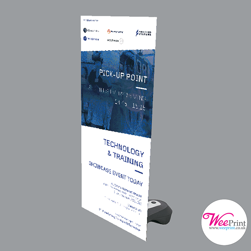 X Banners Are An Effective And Affordable Way Of Creating Striking Outdoor Signage And Displays The Base Can Be Filled Outdoor Signage Pvc Vinyl Banner Stands