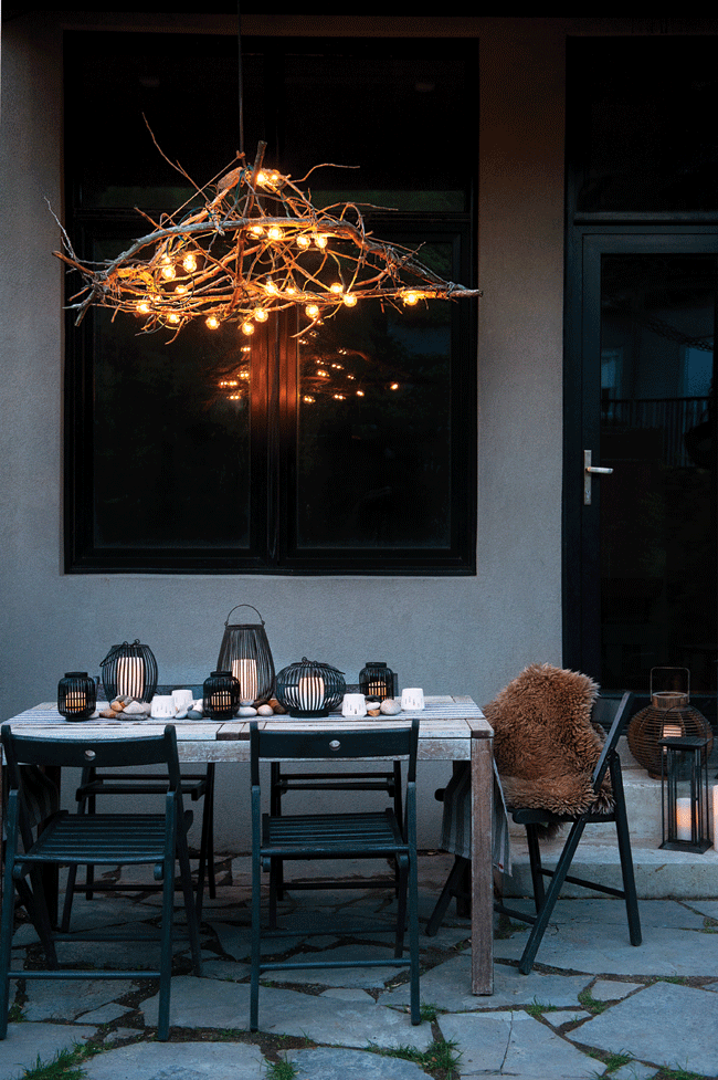 How To Make Your Own Rustic Chic Chandelier Create Sophisticated Countryside Charm With Pretty Lanterns And A Standout Pendant Lamp