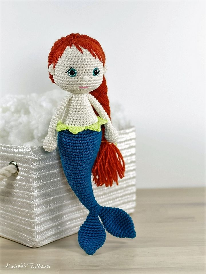30 Plus Free Crochet Amigurumi Patterns | Mermaid, Patterns and ...