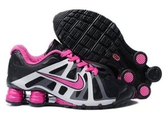 Shopping Online Hot Sell Nike Shox Roadster 12 Womens Shoes Online Black  White Pink