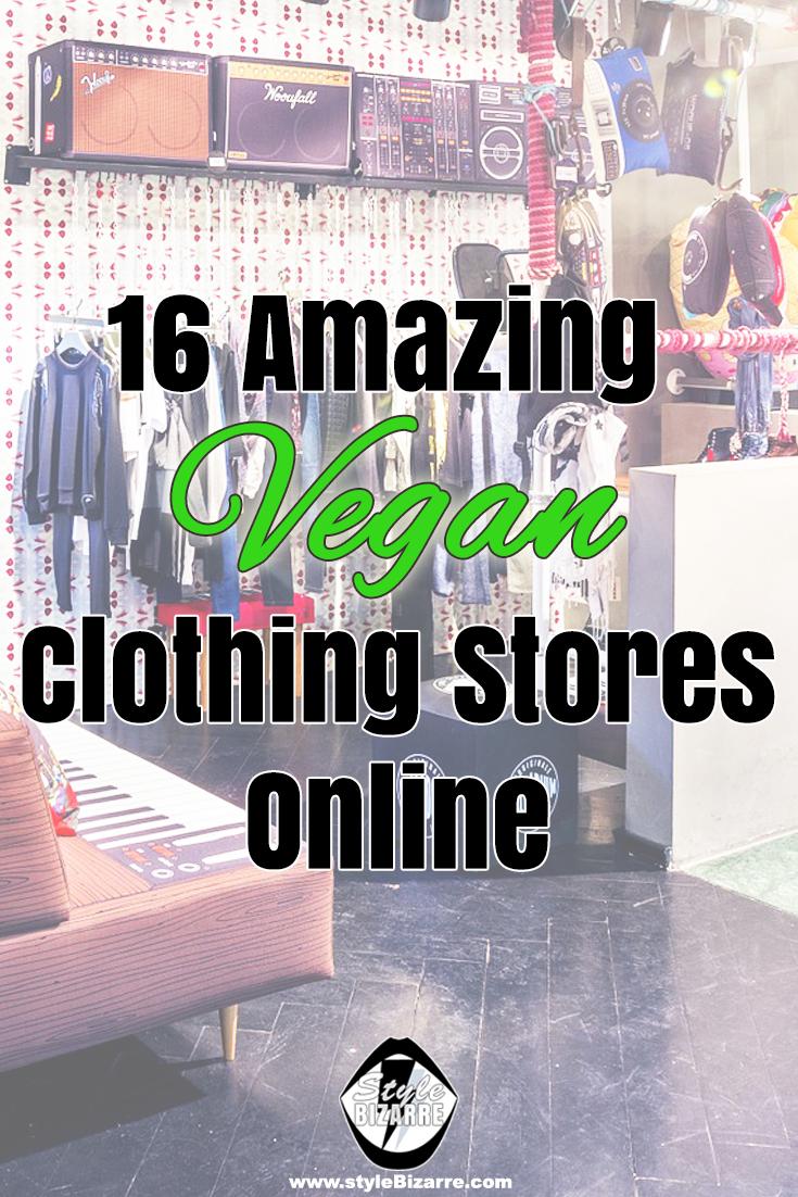 16 Amazing Vegan Clothing Stores Online - styleBizarre