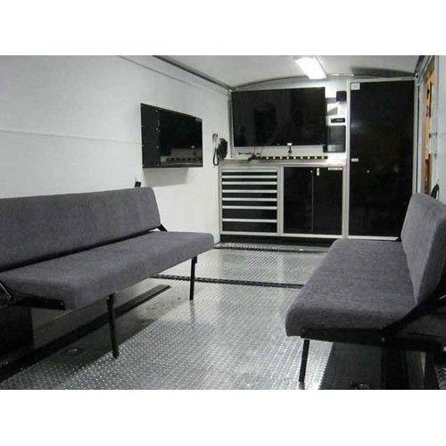 Klappcouch Rv Life Camper Enclosed Trailer Camper Enclosed