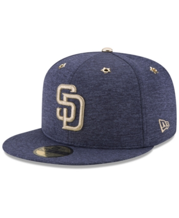 promo code 46672 90c57 New Era San Diego Padres 2017 All Star Game Patch 59FIFTY Fitted Cap - Blue  7