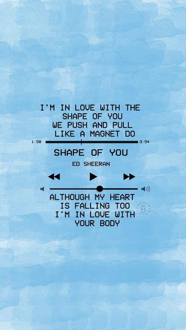 Galway Girl Lyrics Wallpaper Ed Sheeran