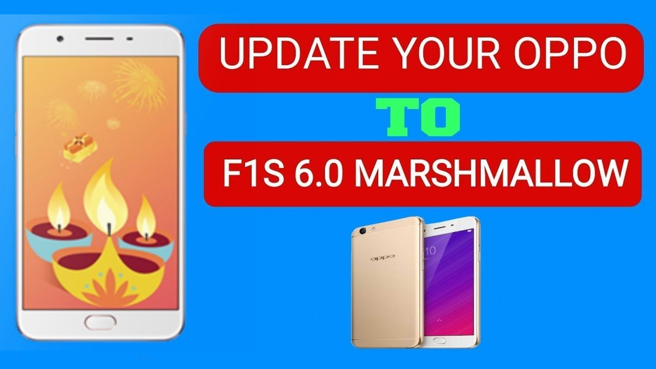 How To Update Or Upgrade Oppo F1s Android 5 1 to 6 0